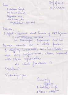 Customer Appreciations - Agarwal Packers and Movers