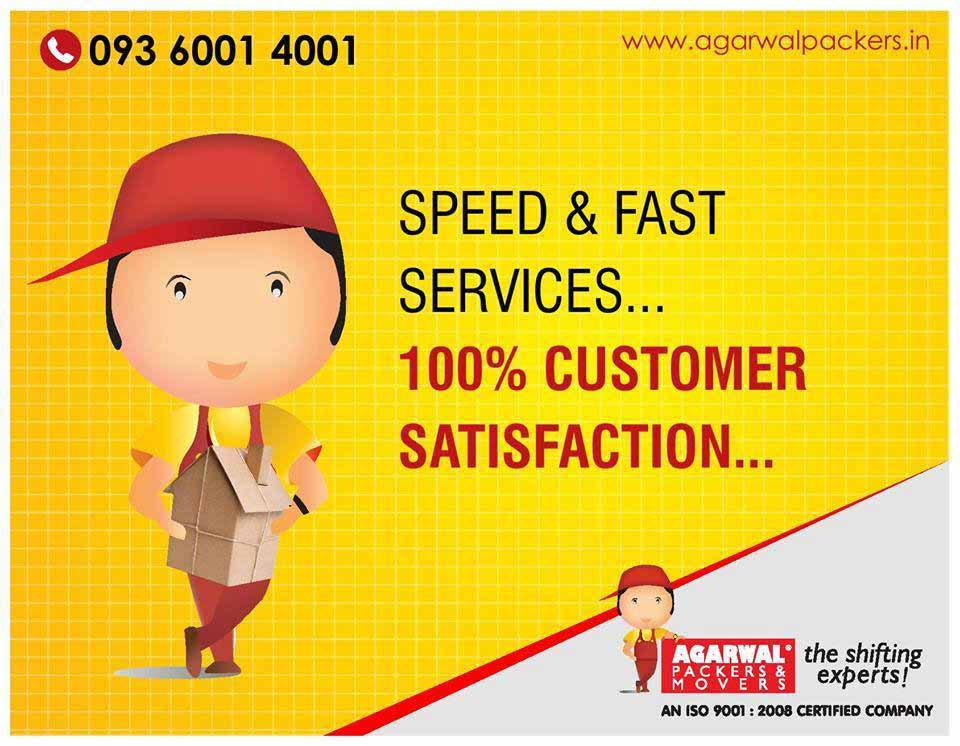 Speed and Fast Services - Agarwal Packers and Movers