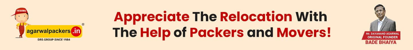 Appreciate The Relocation With The Help of Packers and Movers!