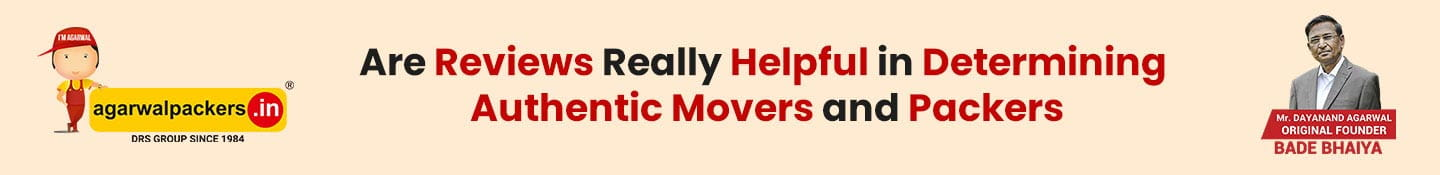 Are Reviews Really Helpful in Determining Authentic Movers and Packers