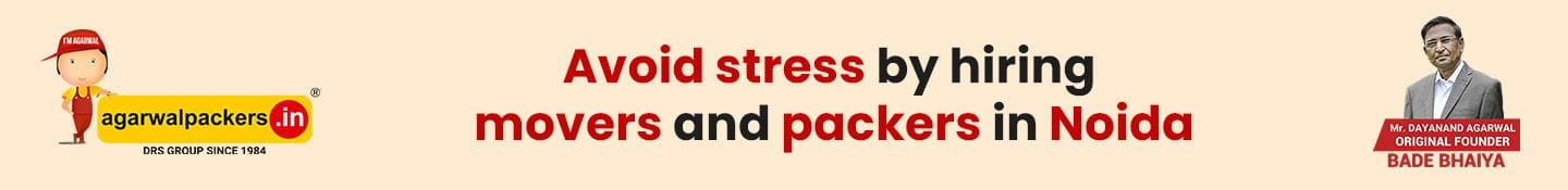 Avoid Stress by Hiring Packers and Movers in Noida