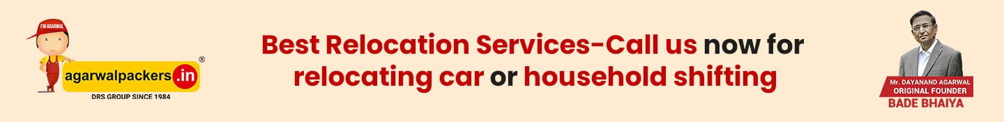 Best Relocation Services-Call us now for Relocating Car or Household Shifting