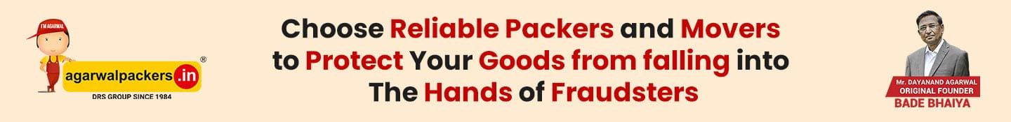 Choose Reliable Packers and Movers to Protect Your Goods from falling into the Hands of Fraudsters