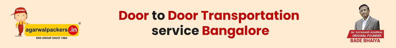 Door to Door transportation service Bangalore