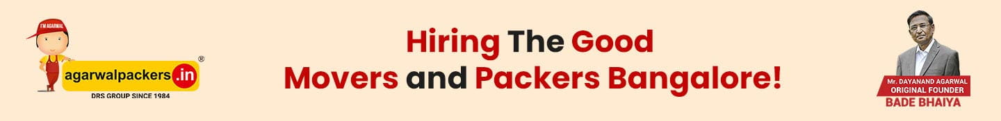 Hiring The good Movers and Packers Bangalore!