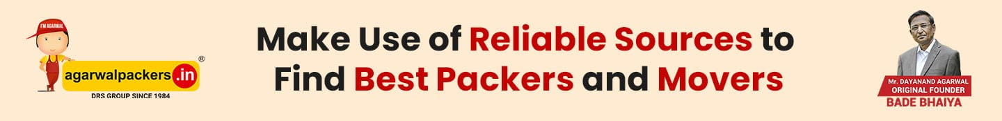 Make Use of Reliable Sources to Find Best Packers and Movers