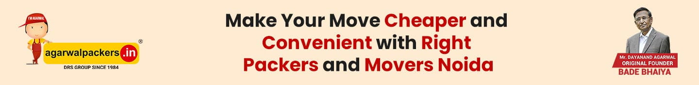 Make Your Move Cheaper and Convenient with Right Packers and Movers Noida