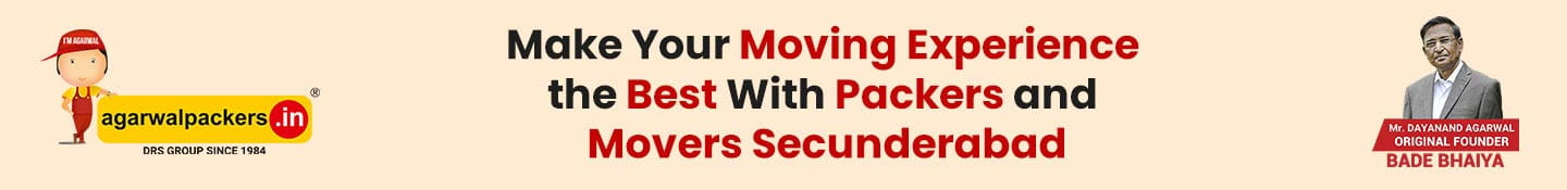 Make your moving experience the best with Packers and Movers Secunderabad