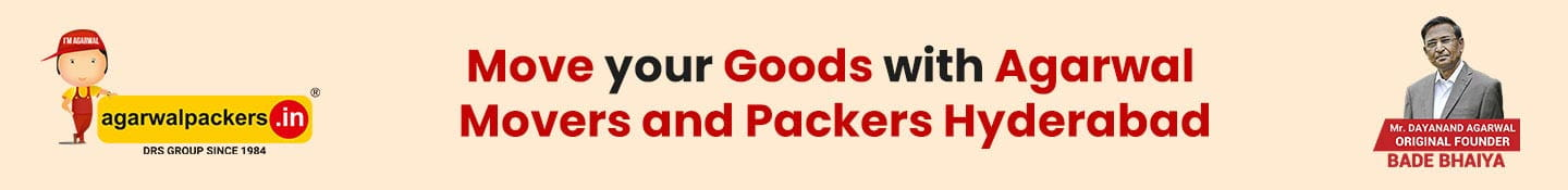 Move Your Goods to Some Other City with the Help of Movers and Packers Hyderabad