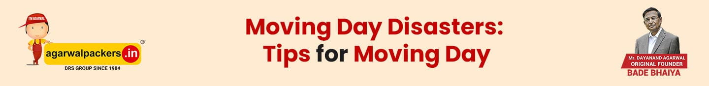 Moving Day Disasters: Tips for Moving Day