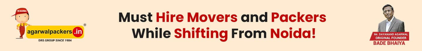 Must Hire Movers and Packers While Shifting from Noida!