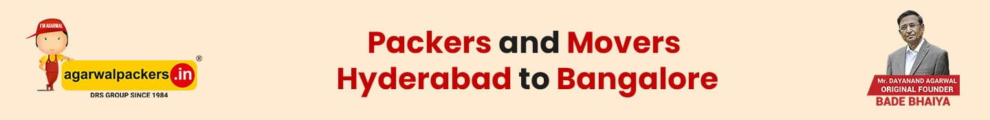 Packers and Movers Hyderabad to Bangalore