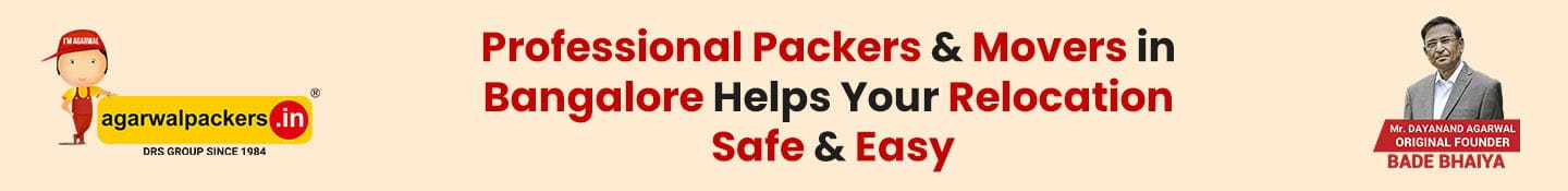 Professional Packers & Movers in Bangalore helps your relocation safe & easy