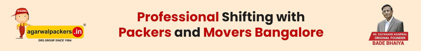 Professional Shifting With Packers and Movers Bangalore