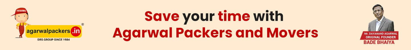 Save Your Time With Agarwal Packers and Movers