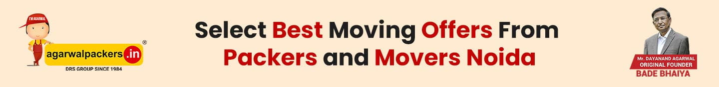 Select Best Moving Offers from Packers and Movers Noida