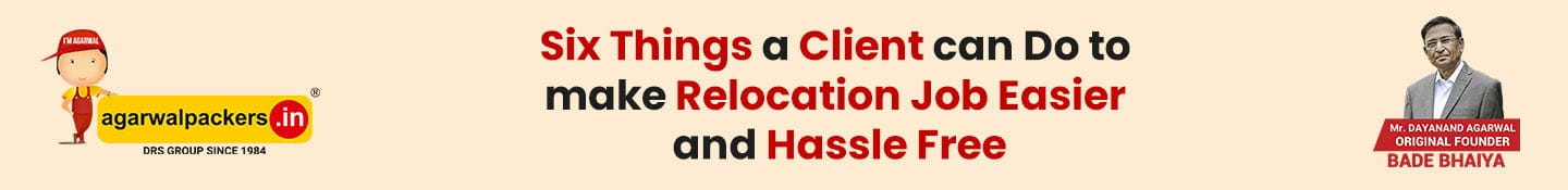 Six Things a Client Can Do to Make Relocation Job Easier and Hassle Free