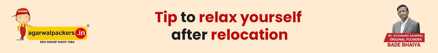 Tip to Relax Yourself After Relocation