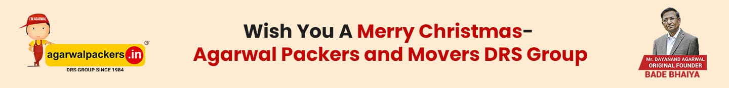 Wish You A Merry Christmas- Agarwal Packers and Movers DRS Group