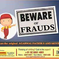 Beware of Frauds - Original Agarwal Packers and Movers