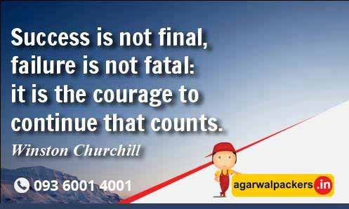 Courage Counts - Agarwal Packers and Movers