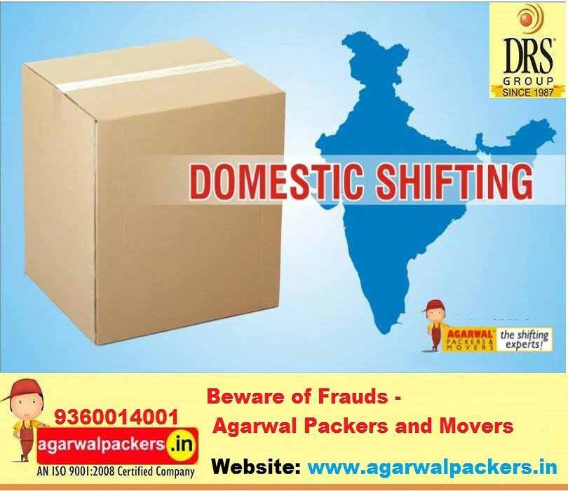 Domestic Shifting - Agarwal Packers and Movers