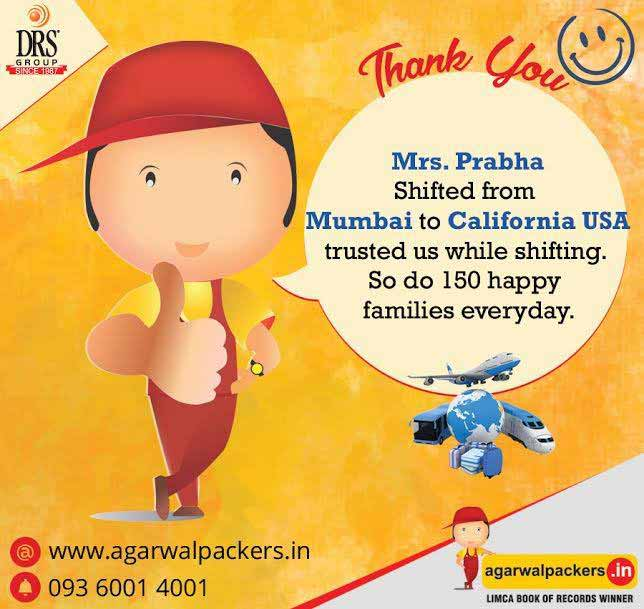 Happy Customers - Agarwal Packers and Movers