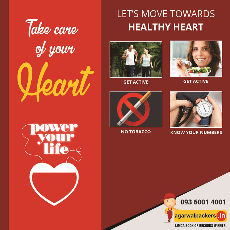 Healthy Heart - Agarwal Packers and Movers