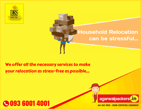 Household Relocation - Agarwal Packers and Movers