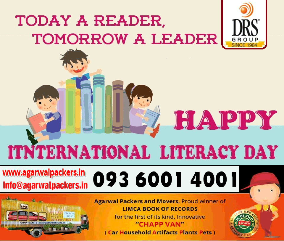 International Literacy Day - Agarwal Packers and Movers