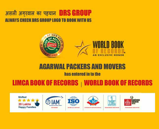 Limca Book of Records - Agarwal Packers and Movers Bangalore