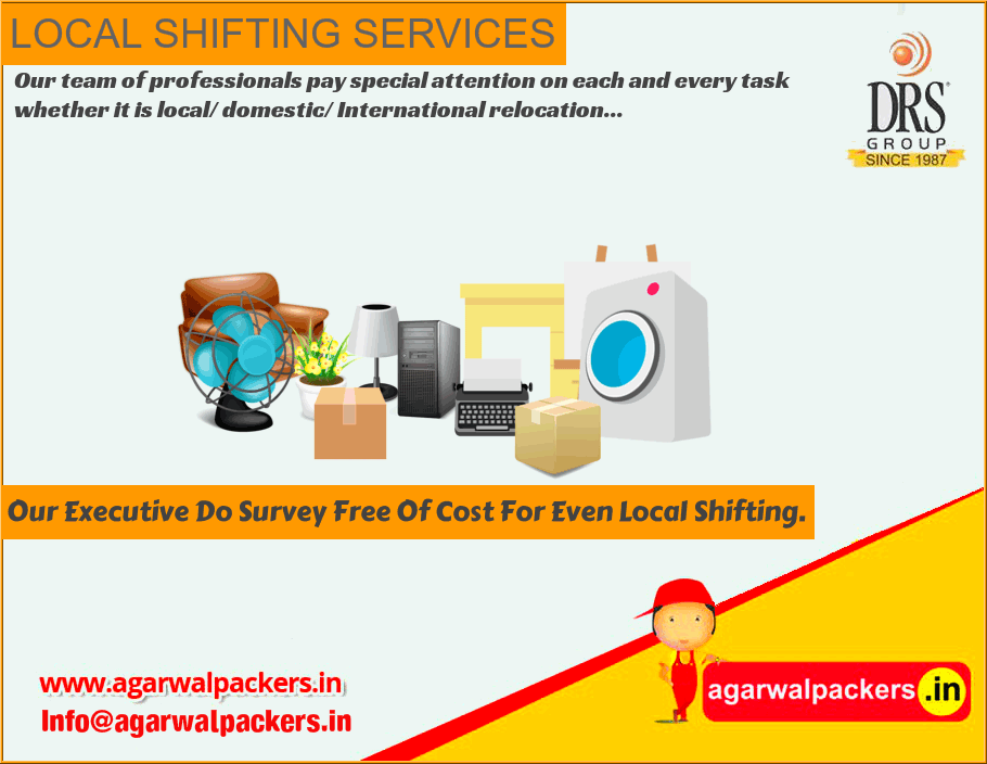 Local Shifting Services - Agarwal Packers and Movers