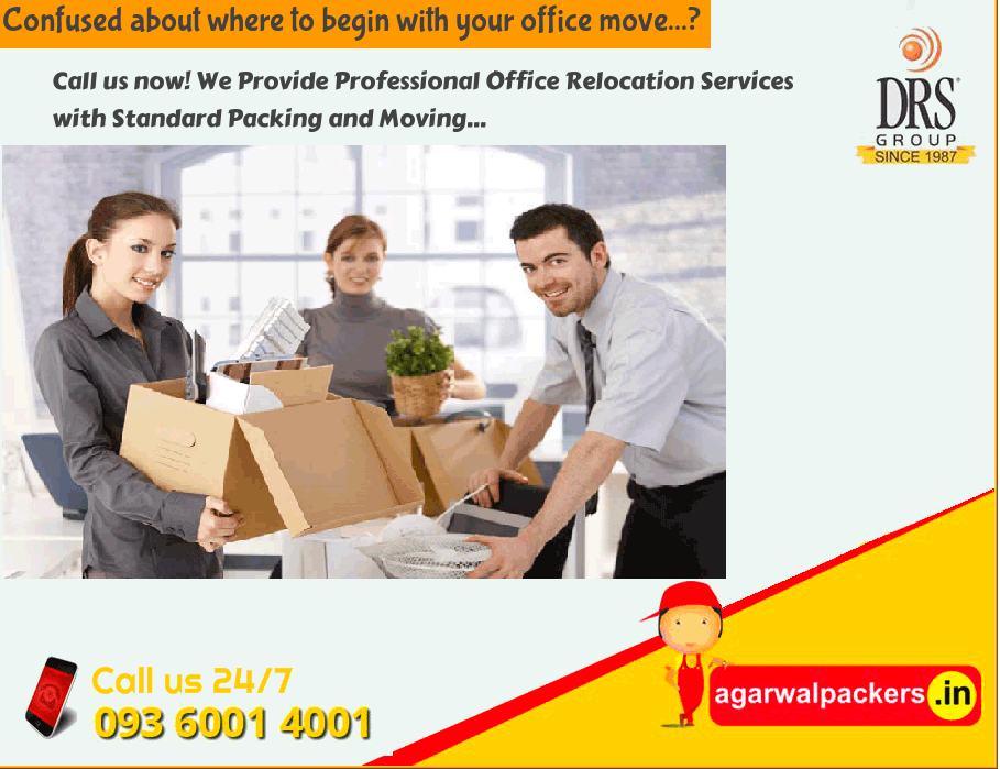 Office Relocation Services - Agarwal Packers and Movers
