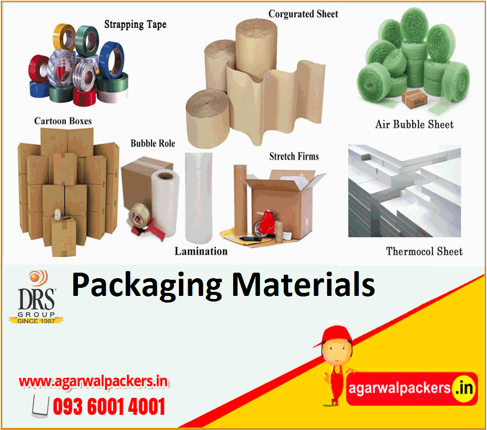 Packaging Materials - Agarwal Packers and Movers