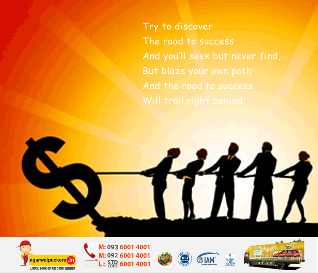 Road to Success - Agarwal Packers and Movers