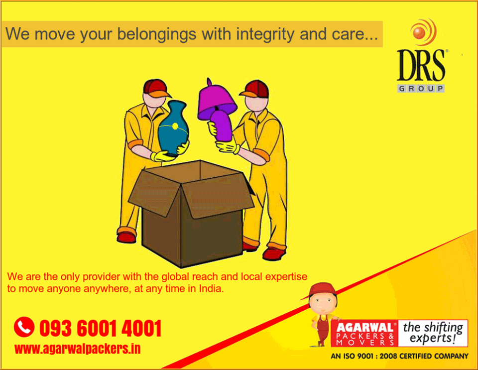 Safety of your belongings - Agarwal Packers and Movers