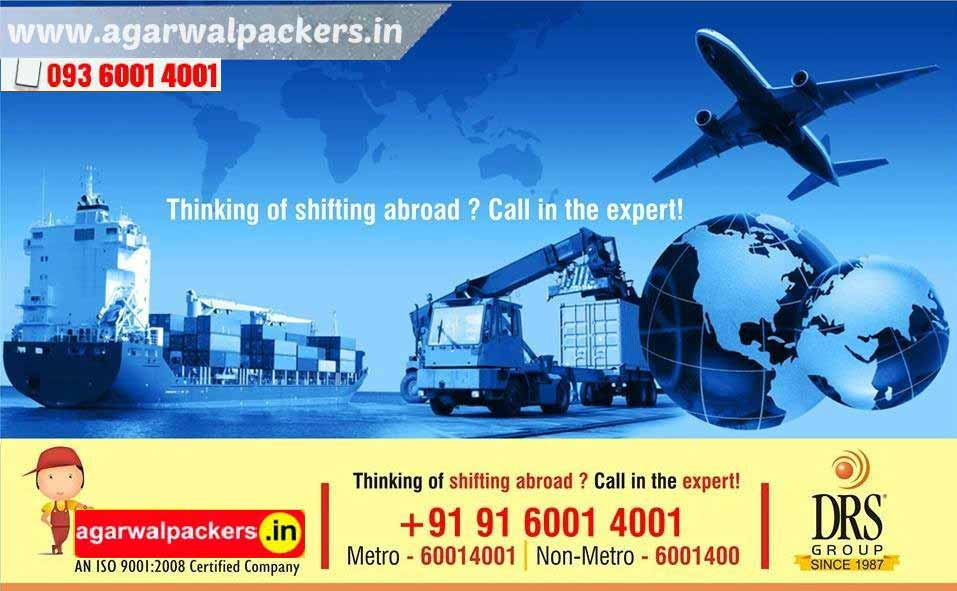 Shifting Abroad - Agarwal Packers and Movers