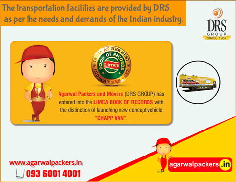 Transportation Facilities - Agarwal Packers and Movers