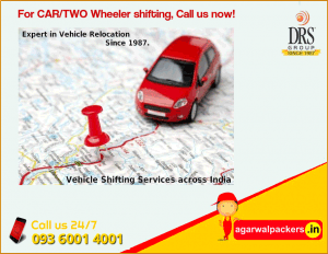 Vehicle Relocation - Agarwal Packers and Movers